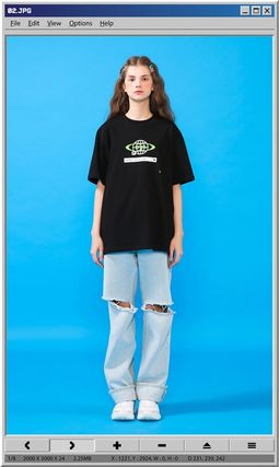 TARGETTO SEOUL Tシャツ・カットソー [TARGETTO] SEARCH LOGO T-SHIRT BLACK(3)