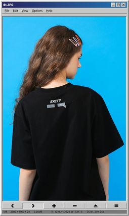 TARGETTO SEOUL Tシャツ・カットソー [TARGETTO] SEARCH LOGO T-SHIRT BLACK(4)