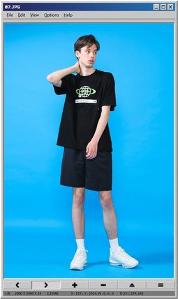 TARGETTO SEOUL Tシャツ・カットソー [TARGETTO] SEARCH LOGO T-SHIRT BLACK(6)