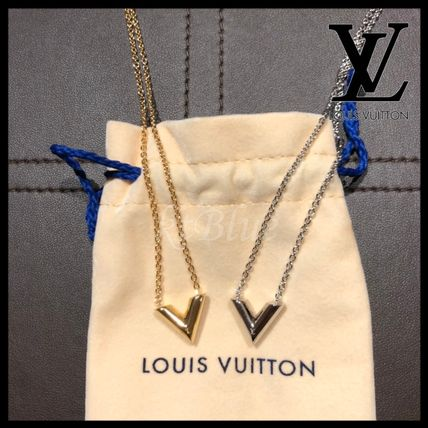 Louis Vuitton ネックレス・チョーカー すぐ届くLouis Vuitton ルイヴィトン エッセンシャルVネックレス