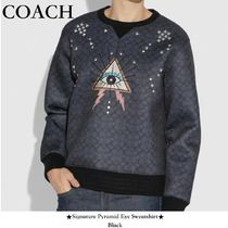 【COACH/コーチ】入手困難!●Signature Pyramid Eye Sweatshirt