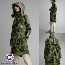 【CANADA GOOSE】CAVALRY TRENCH PRINT★キャバルリー