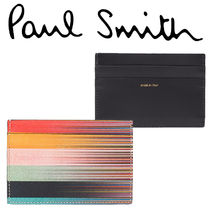 Paul Smith ポールスミス  Men's Mixed-Stripe Card Holder