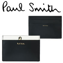 Paul Smith ポールスミス Men's Leather Naked Lady Card Holder