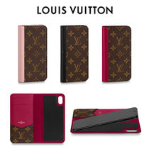 Louis Vuitton 直営★IPHONE XS MAX・フォリオ iPhoneケース