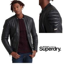 【送料関税込み】Superdry City Hero Leather Racer 新作