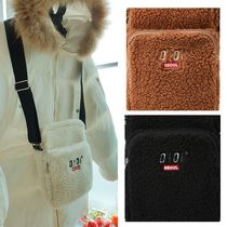 【OIOI】 SHEARLING AIRLINE BAG 5252 by o!oi
