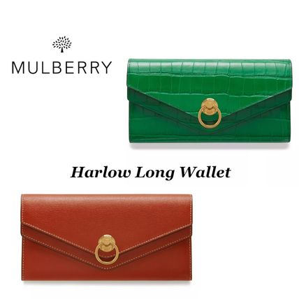 【Mulberry】Harlow Long Wallet 長財布
