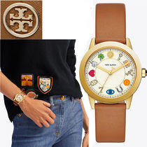 特別価格! Tory Burch GIGI 36MM CHARM LUGGAGE/GOLD/MULTI
