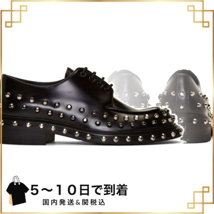関税込◆Black Studded Derbys