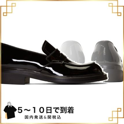 関税込◆Black Patent Penny Loafers