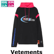 関税込☆VETEMENTS ☆Printed cotton hoodie