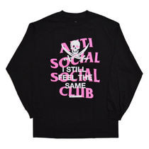 【ANTI SOCIAL SOCIAL CLUB】Black Jack Black Long Sleeve Tee