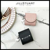 【JILLSTUART】★LEATHER SILVER PETIT DIAMOND AIRPODS CASE★
