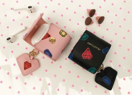 JILLSTUART スマホケース・テックアクセサリー 【JILLSTUART】★PETIT DIAMOND HEART CHARM AIRPODS CASE★(17)