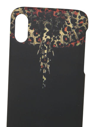 Marcelo Burlon スマホケース・テックアクセサリー MARCELO BURLON WINGS IPHONE Xケース(Black)(2)