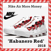 Nike Air More Money 'Habanero Red' AW FW 18 2018