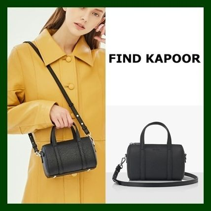 FIND KAPOOR ボストンバッグ 日本未入荷!【FIND KAPOOR】BOSTON BAG18 BASIC LINE(BLACK)