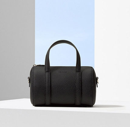 FIND KAPOOR ボストンバッグ 日本未入荷!【FIND KAPOOR】BOSTON BAG18 BASIC LINE(BLACK)(11)