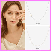 【Hei】initial combi necklace〜H イニシャル ネックレス