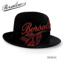 ★イタリア発★【Borsalino】Art Nouveau medium brim