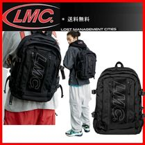 ★韓国の人気★【LMC ] ★ LMC UTILITY BACKPACK★Black★
