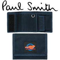 Paul Smith ポールスミス  'Live Faster' Patch Tri-Fold Wallet