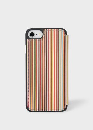 Paul Smith スマホケース・テックアクセサリー Paul Smithポールスミス Signature Stripe iPhone 6/6S/7/8 Case(6)