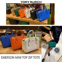 TORY BURCH★EMERSON MINI TOP ZIP TOTE*斜めかけ可