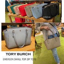TORY BURCH★EMERSON SMALL TOP ZIP TOTE