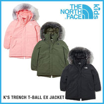 THE NORTH FACE 暖かい K'S TRENCH T-BALL EX JACKET_NJ3NK61
