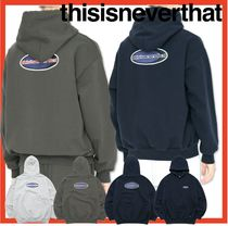 人気★【thisisneverthat】★NEW SPORT HOODED SWEATSHIRT★3色
