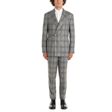 BRUNELLO CUCINELLI スーツ 【BRUNELLO CUCINELLI】Prince of wales suits(7)