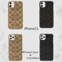 ◇COACH◇iPhone11/11Pro/11ProMax用/シグニチャー柄ケース