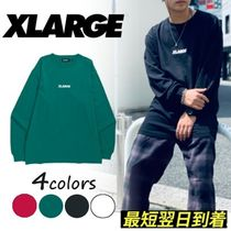 XLARGE L/S TEE EMBROIDERY STANDARD LOGO