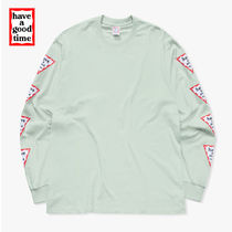 [have a good time] Arm Triangle Frame Long Sleeve T-shirt