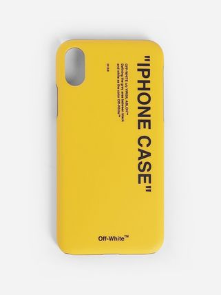 Off-White スマホケース・テックアクセサリー OFF WHITE	QUOTE PRINT IPHONE XS MAX CASE	OMPA011F192	94035
