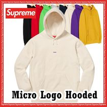 Supreme Micro Logo Hooded Sweatshirt WEEK 9 AW FW 19