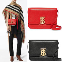 BB299 SMALL GRAINY LEATHER TB BAG