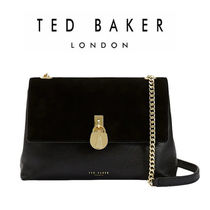 ★TED BAKER★スエードクロスボディバッグ