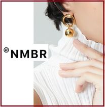 正規品NUMBERING★Ball Pendant Link EaringS ピアス/安心追跡付