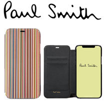 Paul Smithポールスミス Signature Stripe iPhone X Wallet Case