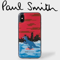 Paul Smith ポールスミス  Red 'Dino' Motif iPhone X Case