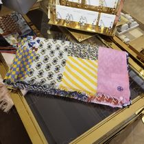 2019 NEW♪ Tory Burch ★ PATCHWORK PRINTED OBLONG SCARF