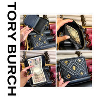 10月新作 TORY BURCH★FLEMING MEDIUM WALLET 61493