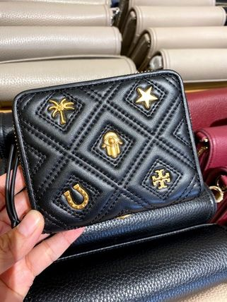 Tory Burch 折りたたみ財布 10月新作 TORY BURCH★FLEMING MEDIUM WALLET 61493(4)
