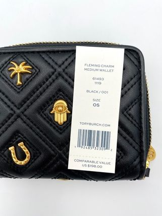 Tory Burch 折りたたみ財布 10月新作 TORY BURCH★FLEMING MEDIUM WALLET 61493(16)