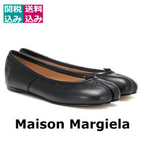 関税込☆ MAISON MARGIELA ☆ Tabi leather ballerinas