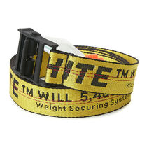 即発送 OFF WHITE 19FW INDUSTRIAL BELT YELLOW