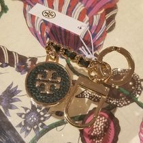 2019 NEW♪  Tory Burch ★ MERCER LEATHER KEY FOB
